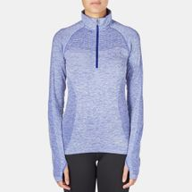 Nike Dri-FIT Knit Half-Zip Running T-Shirt, 161087