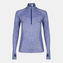 Nike Dri-FIT Knit Half-Zip Running T-Shirt, 161090