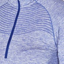 Nike Dri-FIT Knit Half-Zip Running T-Shirt, 161091