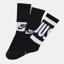 Nike Kids' Performance Cushioned Crew Training Socks (3 Pair) (Older Kids)
