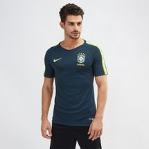Nike Breathe Brazil Squad Football Top