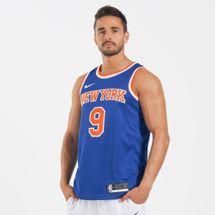 تيشيرت كرة السلة ان-بي-ايه سوينجمان نيويورك نيكس أيكون إديشن من نايك للرجال