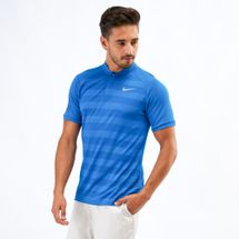Nike Golf Zonal Cooling Momentum Slim Fit Striped Polo T-Shirt