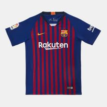 Nike Kids' FC Barcelona Stadium Home Jersey 2018/19 (Older Kids)