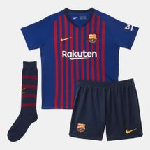Nike Kids' Breathe FC Barcelona Home Football Kit