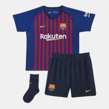 Nike Kids' Breathe FC Barcelona Home Football Kit - Toddler