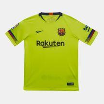 تيشيرت برشلونة الاحتياطي لكرة القدم من نايك للاطفال (اطفال كبار)