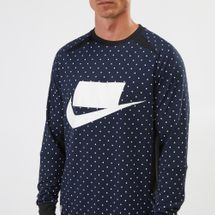 Nike Sportswear Long-Sleeve Fleece Sweatshirt, 1208434