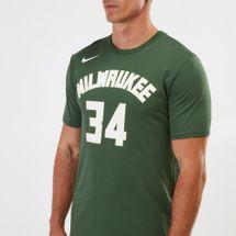 Nike Dry NBA Milwaukee Bucks Giannis Antetokounmpo T-Shirt, 1208339