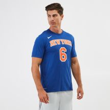 Nike Dry NBA New York Knicks Kristaps Porzingis T-Shirt
