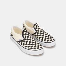 Vans Kids' Checkerboard Classic Slip-On Shoe (Older Kids), 1882764