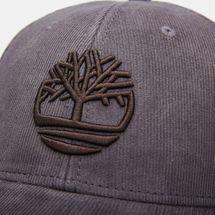Timberland Men's Corduroy Logo Cap - Grey, 1650628
