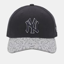 New Era Speckle Peak NY Yankee Cap - Blue, 181742