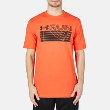 Under Armour Run Track T-Shirt Red