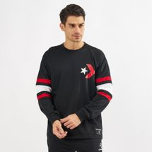 Converse Star Chevron Football Jersey Long Sleeve T-Shirt