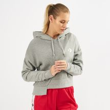 Converse Sweater Knit Cropped Hoodie