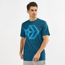 Converse Distressed Star Chevron T-Shirt