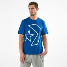 Converse Men's Tilted Star Chevron T-Shirt