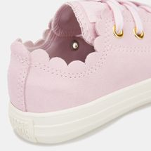 Converse Kids' Chuck Taylor All Star Frilly Thrills Shoe (Older Kids), 1566927