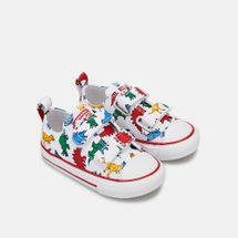 Converse Kids' Chuck Taylor All Star Dinoverse 2V Low Top Shoe (Baby & Toddler), 1522354