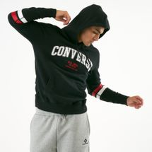 Converse Men's Collegiate Text Pullover Hoodie