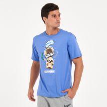 Converse Men's Skull Helmet T-Shirt