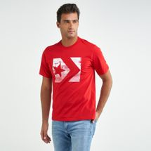 Converse Men's Photo Fill Star Chevron T-shirt