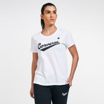 Converse Women's Center Front Logo T-Shirt