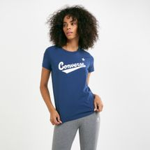 Converse Women's Front and Center Logo T-Shirt