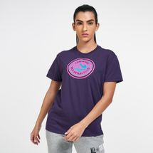 Converse Women's Center-Front Mountain Club T-Shirt