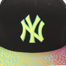 New Era Sneak Vize New York Yankees Cap - Black, 182033