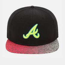 New Era Sneak Vize Atlanta Braves Cap - Black, 182006