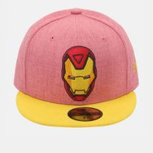 New Era Heather Official Iron Man Cap - Red, 181994