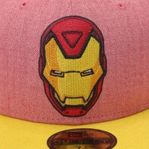 New Era Heather Official Iron Man Cap - Red, 181997