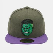 New Era Heather Official Hulk Cap Green