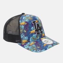 New Era Tropical Trucker LA Dodger Cap - Black, 181787