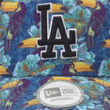 New Era Tropical Trucker LA Dodger Cap - Black, 181789