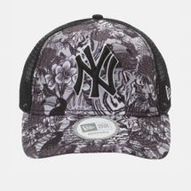 New Era Tiger Trucker NY Yankee Cap - Black, 181818
