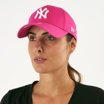 New Era Women's MLB New York Yankees 9FORTY Fashion Essential Cap - Pink, 1595606