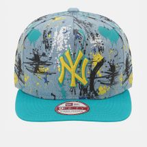 New Era NY Yankees SA Crown Cap Blue