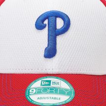 New Era Diamond Stitch Phillies Cap - Red, 182229