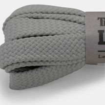 Timberland Flat Polyester 52-Inch Replacement Shoe Laces - Grey, 825209