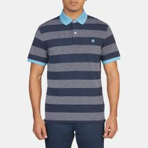 Timberland Millers River Stripe Short Sleeve Polo Shirt, 356063