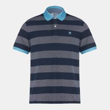 Timberland Millers River Stripe Short Sleeve Polo Shirt, 356066