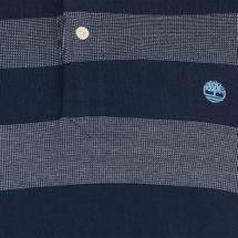 Timberland Millers River Stripe Short Sleeve Polo Shirt, 356067