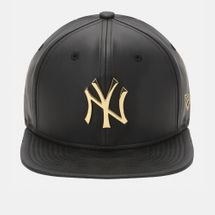 New Era Metal Prime NY Yankees Cap - Black, 182262