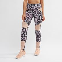 L'urv Animal Instinct Moto Leggings