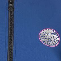 Rip Curl Warrior Belle Zip Thru UV Rash Vest T-Shirt, 481333