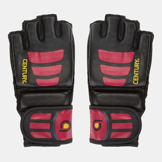 Century Brave Open Palm Gloves - Black