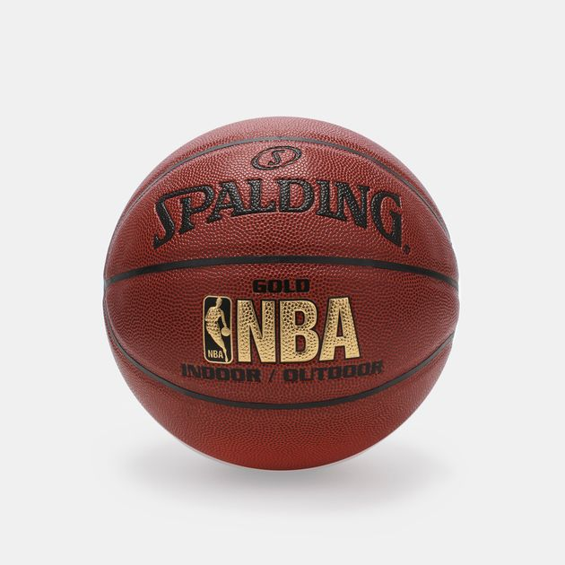 best service bc66c a97b9 Spalding NBA Gold Indoor/Outdoor Basketball
